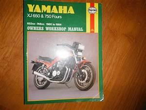 Yamaha Xj 650  U0026 Xj 750 Maxim Fours 1980