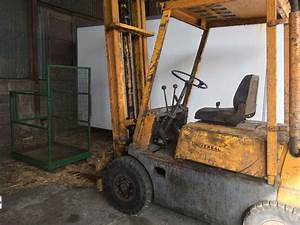 Coventry Climax Forklift 2 5ton Lift Diesel