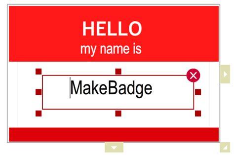 badge maker    templates design