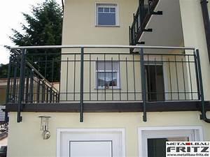 Balkongeländer Selber Bauen : balkongel nder 13 02 metallbau fritz ~ Lizthompson.info Haus und Dekorationen