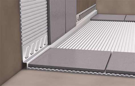 Fliesen Abschlussprofil Verlegen by Fliesen Profil Dusche Keil Keilprofil Bodengleiche Dusche