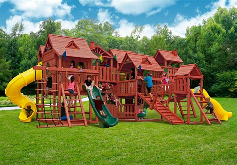 gorilla playsets metropolis wooden play from nj swingsets