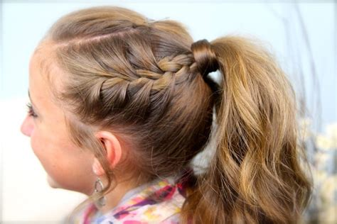 must do this a great hairstyle for cheer leading