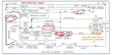 wiring diagram free whirlpool dryer in schematic within