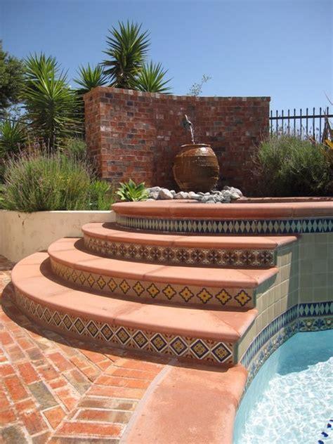 Spanish Deco Pool   Mediterranean   Pool   orange county