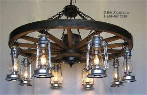 carriage light chandelier authentic amish wagon wheels rustic western home country 2005