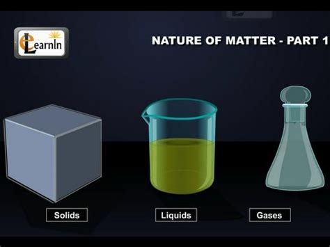 particulate nature  matter part  chemistry youtube