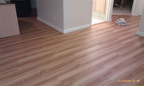 Mocca Wooden Allure Vinyl Plank Flooring Matched With