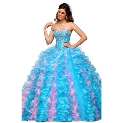 light blue 15 dresses aliexpress com buy 2016 beading quinceanera dresses