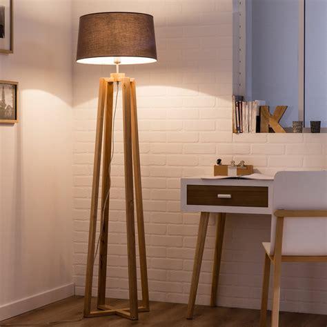 pose pied bureau pied de ladaire sachi bois bois 144 cm inspire
