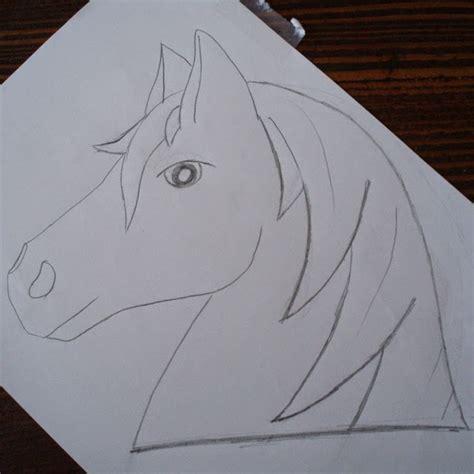 stickideen pferdekopf