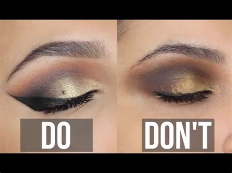eyeshadow dos donts youtube