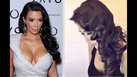 ★kim Kardashian Hair Tutorial