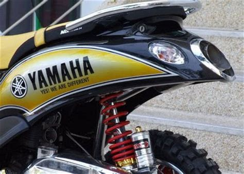 Yamaha Fino 125 Modification by Yamaha Fino Road 2009 Modification Pictures Gambar