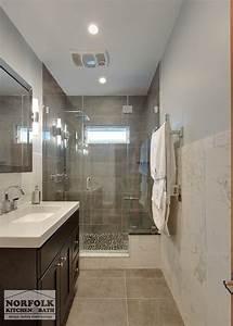 Modern bath remodel norfolk kitchen bath for Bathroom remodeling norfolk va
