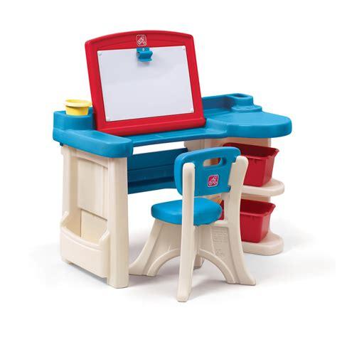 step 2 desk with light studio art desk art desk easels step2