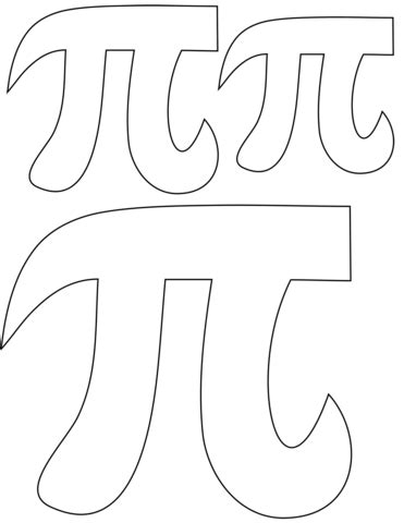 pi day coloring page  printable coloring pages
