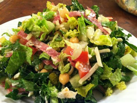 chopped recipe salad days the classic chopped salad two chums