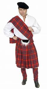 Adult Scottish Kilt Costume Braveheart Costume Scotsman ...