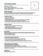 Sample Resume Format For Fresh Graduates One Page Format JobStreet Resume Example In The Combination Resume Format Free Resume Formats Sample Resume Format Resume Templates Make The Format Drastically Change The Pdf Ensures Proper Formatting