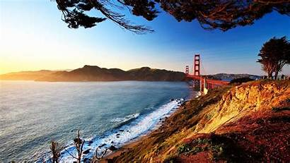 Francisco San Bridge Wallpapers Bay Gate Golden