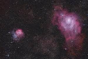 Lagoon and Trifid Nebulas