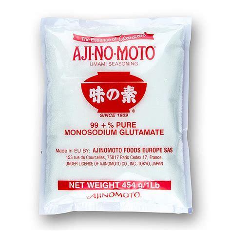 glutamate de sodium cuisine monosodique glutamate de sodium e621 aji no moto 453 g sachet