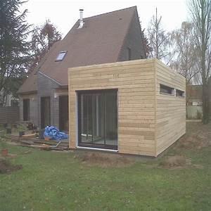 Kit Extension Bois Toit Plat : agrandissement maison en kit extension garage good de tage et incroyable bois toit plat 4 ~ Farleysfitness.com Idées de Décoration