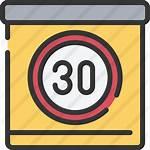 Icon Limit Speed Premium Outline Icons Flaticon