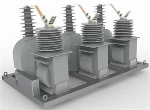 Three Phaseoutdoor 36kv Combined Transformers For Power