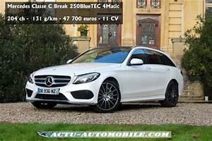 Nouvelle Mercedes Classe C : nouvelle classe c sw 2014 ~ Melissatoandfro.com Idées de Décoration