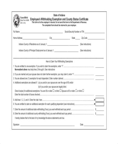 sle employee tax forms 9 free documents in word pdf