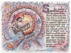 Stier Und Skorpion : sternbild skorpion auf antikpapier im a4 format ~ A.2002-acura-tl-radio.info Haus und Dekorationen