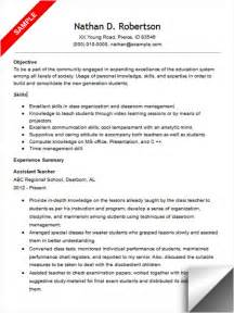 special education assistant resume objective assistant resume sle