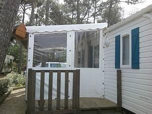 Fermer Une Terrasse Couverte : auvent mobil home chalet a vendre belgique d occasion maison bois passive positive ~ Melissatoandfro.com Idées de Décoration