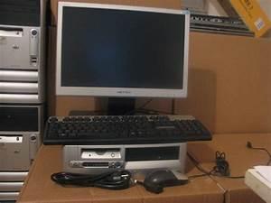 Pc De Bureau Hp D530 P4 26ghz 2 G 160g Ecran Plat 17