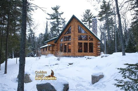 golden eagle log  timber homes log home cabin