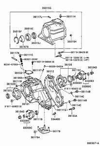 Toyota Tacoma Case  Transfer  Rear  Driveline