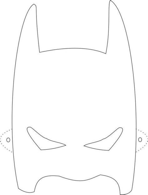 Batman Mask Template by Batman Mask Template Printable