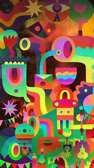 Android Image Wallpaper 3D Abstract Colorful Shapes | The ...