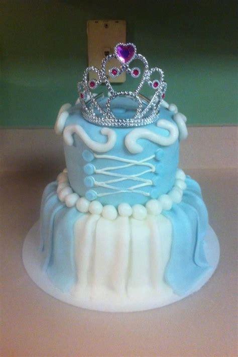cinderella cake super cute  birthday theme