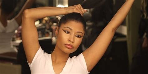 Nicki Minajs Natural Hair Is Long And Healthy Who Knew