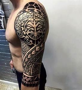 Tatouage Tribal Maorie : 56 maori tattoo designs on full sleeve ~ Melissatoandfro.com Idées de Décoration