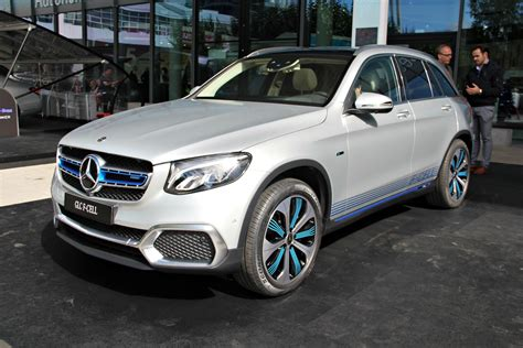 mercedes glc fuel cell le concept car discret en