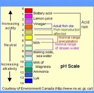 chart outlining the ph scale - Grunt Boat Cleaner