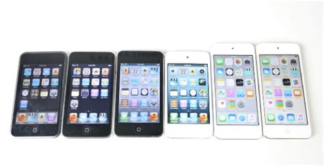 video ipod touch   alle aelteren ipod touch modelle