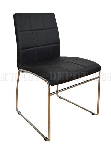c 270 set of 2 modern dining chairs w metal legs