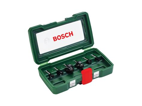 Bosch HMFräserset 6mm Schaft, 6tlg kaufen