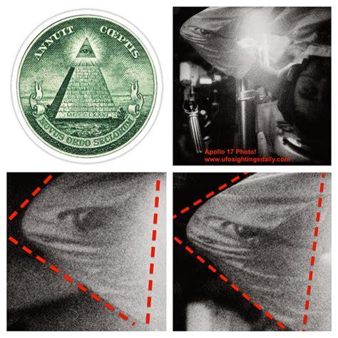 Illuminati Ufo by Ufo Sightings Daily Illuminati Sign On Astronaut In