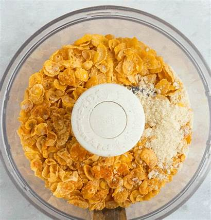 Chicken Fried Coating Oven Panko Cornflakes Crunchy